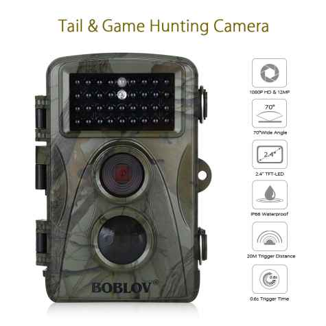 Win a BOBLOV 1080P Hunting Trail Camera - boblov