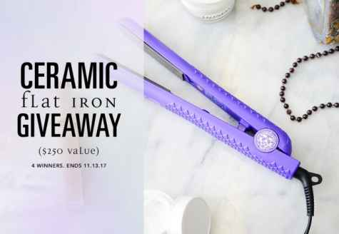 Ceramic Flat Iron Giveaway - Lionesse