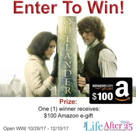 $100 Amazon Gift Card Giveaway - Your Life After 25