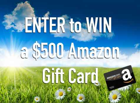 Win a $500 Amazon Gift Card from Whole Heart & Home! - Whole Heart & Home