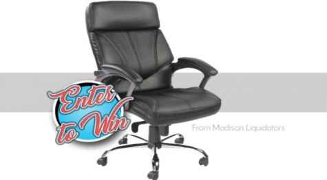 Heavy Duty Office Chair Giveaway - Madison Liquidators