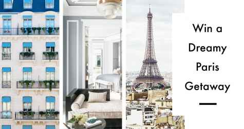 Win a Trip to Paris for 2 - Kiwi Collection