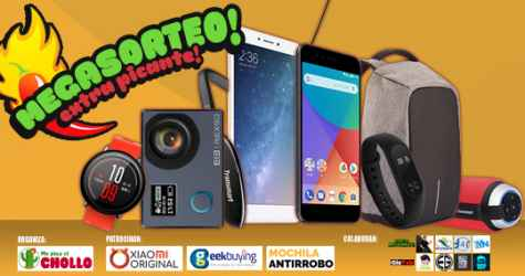 Sorteo 7 packs de productos Me Pica el Chollo Geekbuying Xiaomi Original Mochilas Antirrobo y Youtubers - Me Pica el Chollo, Geekbuying, Xiaomi Original, Mochilas Antirrobo y Youtubers