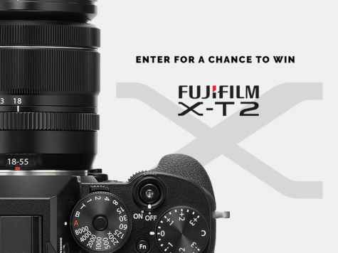 The Fujifilm X-T2 Mirrorless Camera Giveaway with 18-55mm lens - Contrastly