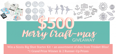$500 Merry Craft-mas Giveaway - TrinketBliss.com