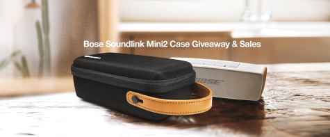 Win a Lightweight Protection Case For Bose Soundlink Mini2/ UE Boom/ JBL Speakers - Tomtoc Marketing