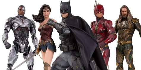 DC Collectibles - Justice League Statue Giveaway - Batman Aquaman Wonder Woman The Flash and Cyborg - Screenrant