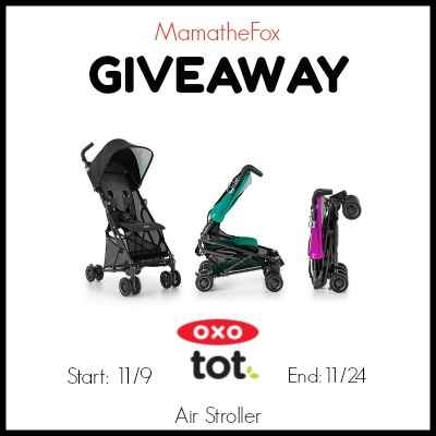 OXO Tot Air Stroller US 11/24 - Woman of Many Roles