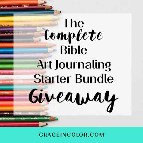 The Complete Bible Art Journaling Starter Bundle Giveaway - Grace in Color