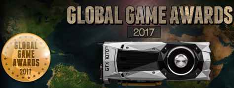 Vote in Global Game Awards for chance at Nvidia GTX 1070 Ti - Global Game Awards