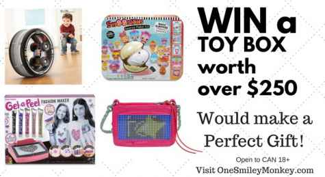 Win a Toy Box Worth Over $250 - One Smiley Monkey