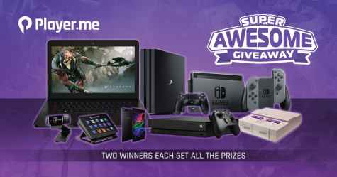 Player.me Super Awesome Giveaway - Player.me