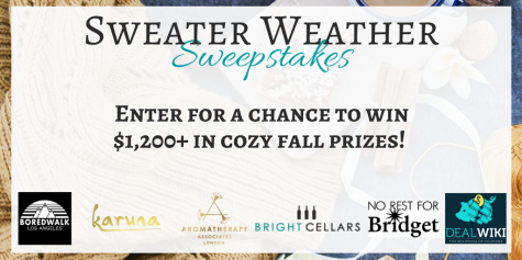 Sweater Weather Sweepstakes - win up to $1200 in prizes! - Bright Cellars