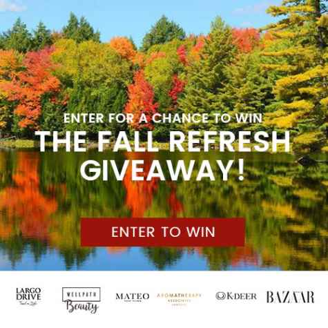 The Fall Refresh Giveaway - win up to $1000+ in fall essentials - WellPath Beauty