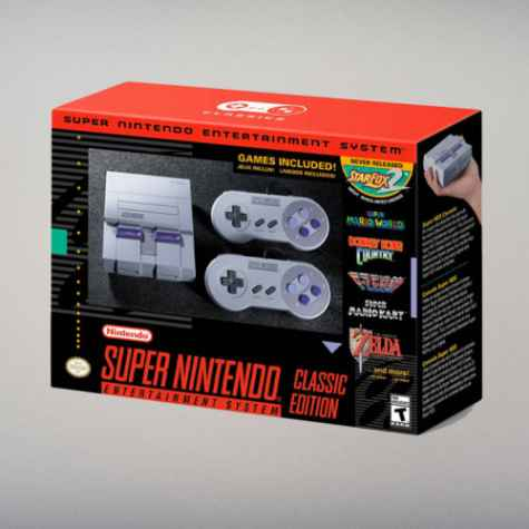 Win a Super Nintendo SNES Classic Edition - Dude Shopping