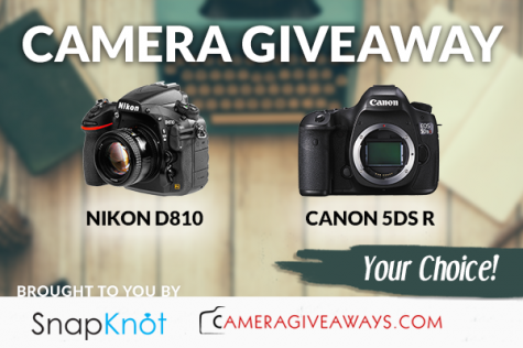 Win Nikon D810 or Canon 5DS R DSLR camera - SnapKnot