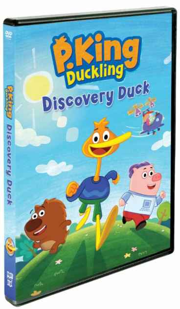 P. King Duckling: Discovery Duck DVD US 12/11 - Making of A Mom