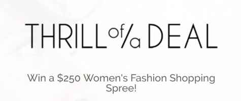 $250 Womens Fashion Shopping Spree Giveaway - Thrill of a Deal