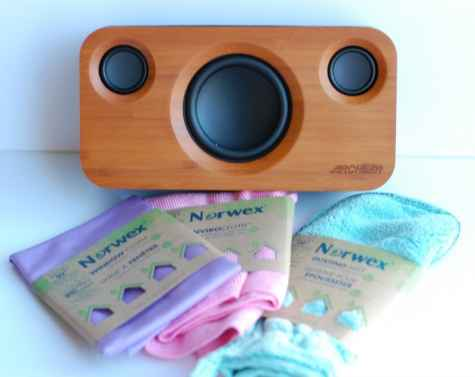 Win a Norwex Household Package & Archeer Bamboo Bluetooth Speaker - Happy Deal - Happy Day!