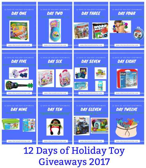 2017 Holiday Toy Guide Giveaway - Charlene Chronicles