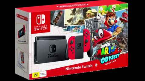 Camblacks Nintendo Switch Mario Odyssey Bundle