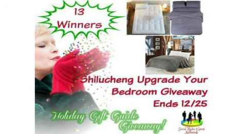Shilucheng Upgrade Your Bedroom Giveaway - Michigan Saving and More