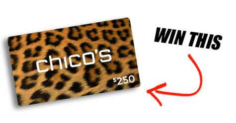 Win a $250 CHICOS Gift Card - Ultimate Looks