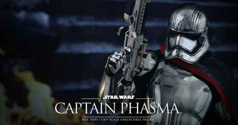 Win a Star Wars Captain Phasma Sixth Scale Figure - Dude Shopping