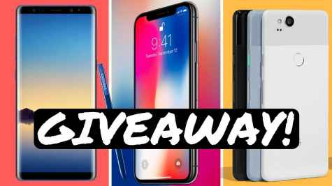Win an Apple iPhone X Samsung Galaxy Note 8 or Google Pixel 2 - AndruEdwards