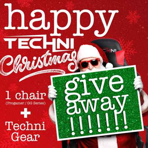 Enter to Win a TechniSport Gaming Chair and Swag Bundle! - TechniSport