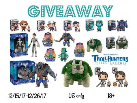Huge Troll Hunter Prize Package US 12/26 - Making of A Mom