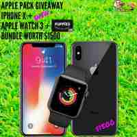 IPhone X Giveaway - MelanysGuydlines
