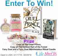 The Cruel Prince Prize Pack Giveaway - Your Life After 25