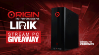 LIRIK x ORIGIN PCs CHRONOS Stream PC World-Wide Giveaway! - Origin PC
