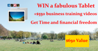 Win an Android Tablet and Business Training Vids - FreedomAston