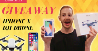 iPhone X & DJI Drone Giveaway - Max Hertan