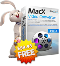 $59.95 4K Video Processing Software - MacXDVD