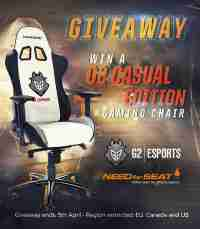 Win a G2 Edition Need For Seat Gaming Chair - G2 & NeedForSeat