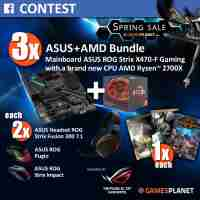 Gamesplanet Spring Sale Giveaway with ASUS ROG UK & AMD - Gamesplanet, ASUS-ROG UK, AMD
