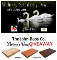 FREE John Boos Cutting Board Giveaway - John Boos Co
