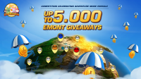 Win up to 100 EMONT crypto tokens - 100x winners - Etheremon