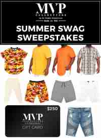 The MVP Summer Swag Sweepstakes -  MVP Collections