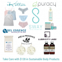 Take care with sustainable body care products - iKotton
