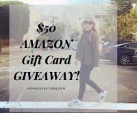 $50 Amazon Gift Card 06/18 - Mom Generations