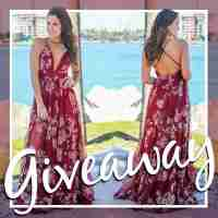 Perfect Printed Tulle Dress Giveaway - Saved By The Dress