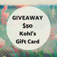 $50 Kohl's Gift Card 08/09 - Mom Generations