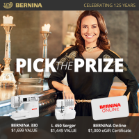 Pick the Prize - BERNINA Canada