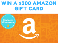 $300 Amazon Gift Card Giveaway - kindness.ly