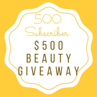 500 Subscriber $500 Beauty Giveaway - Kitty's Boxes