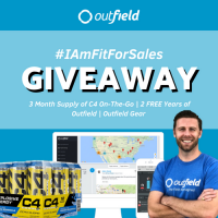 #iamfitforsales Giveaway - Outfield Field Sales CRM